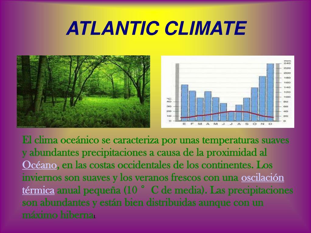 ATLANTIC CLIMATE