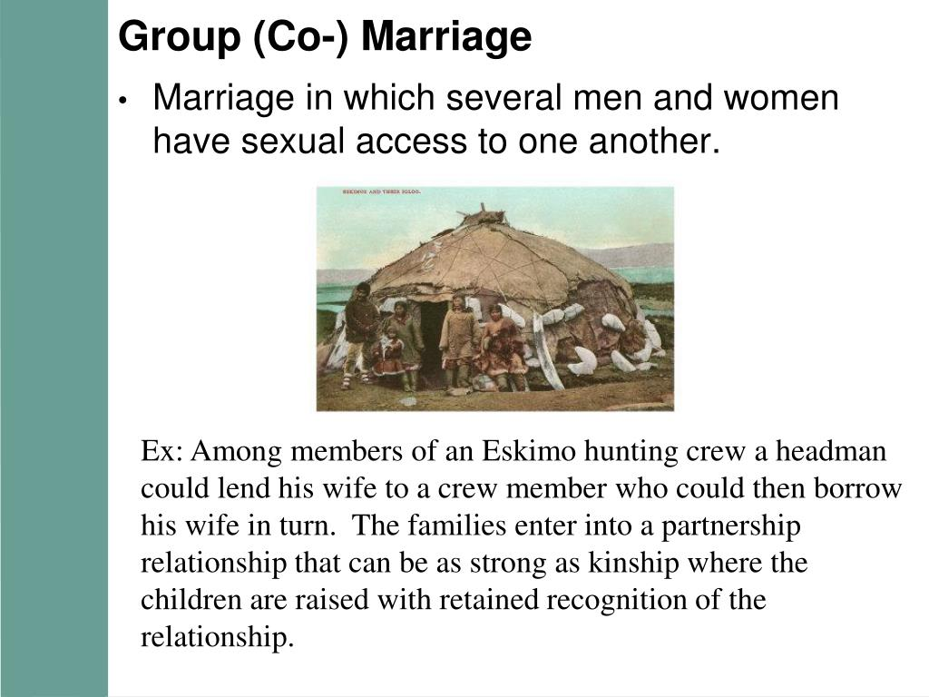 Group (Co-) Marriage