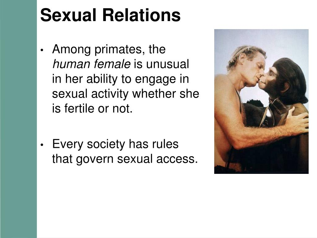 Sexual Relations