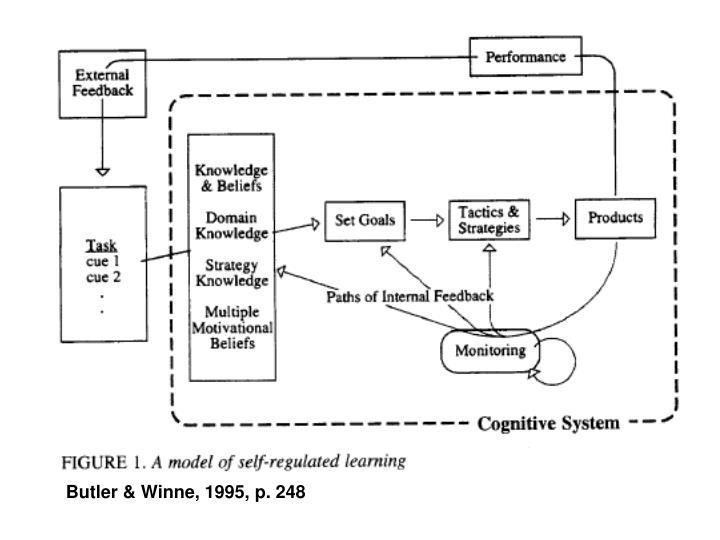 Butler & Winne, 1995, p. 248