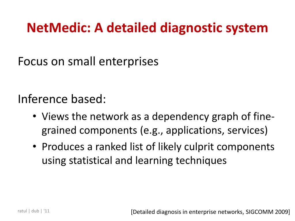 NetMedic