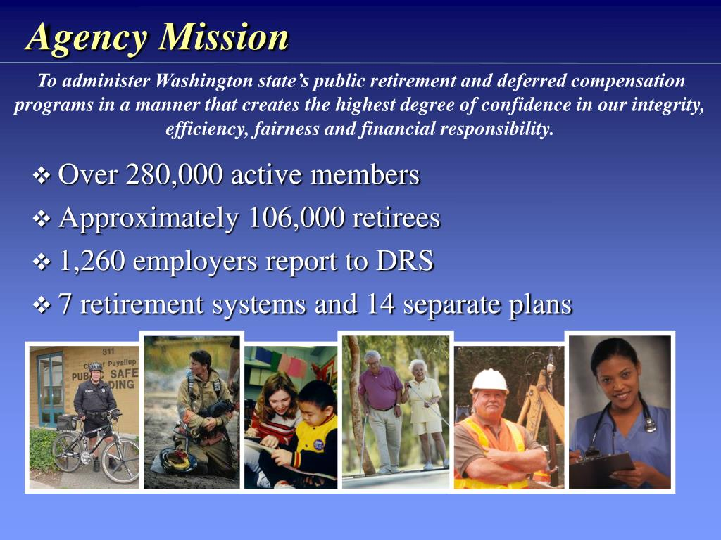 Agency Mission