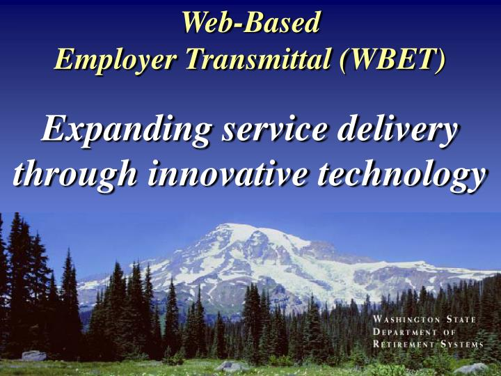 Web based employer transmittal wbet l.jpg