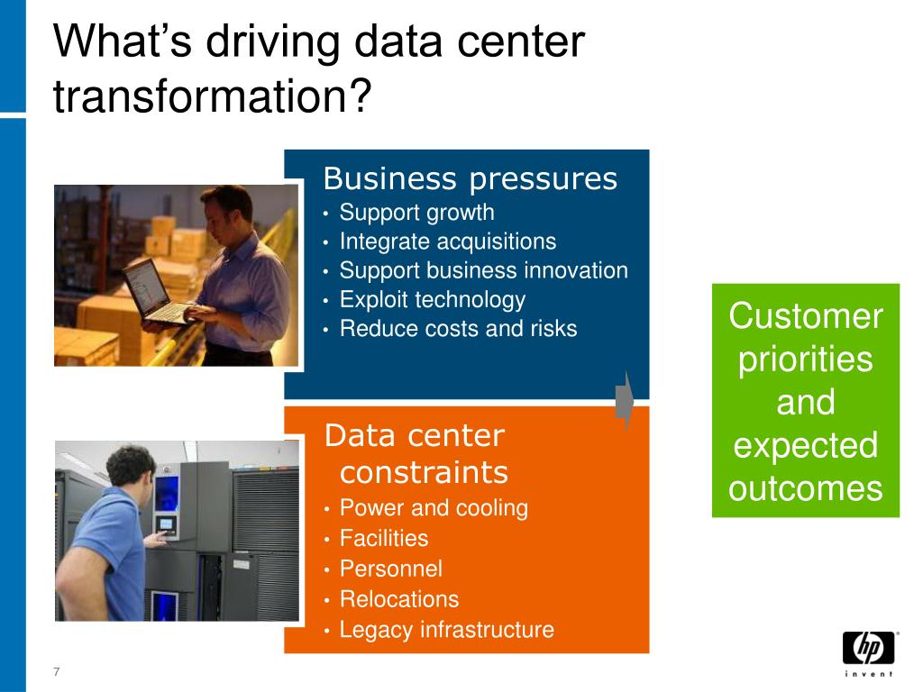 What's driving data center transformation?