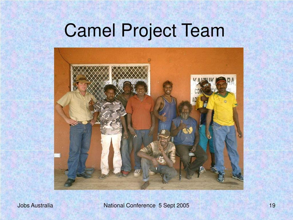 Camel Project Team