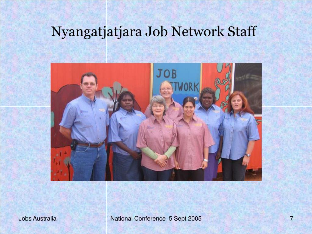 Nyangatjatjara Job Network Staff