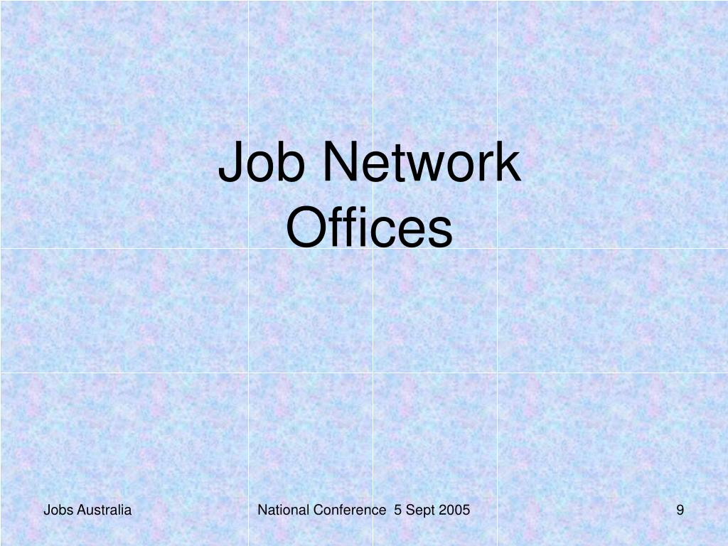 Job Network Offices
