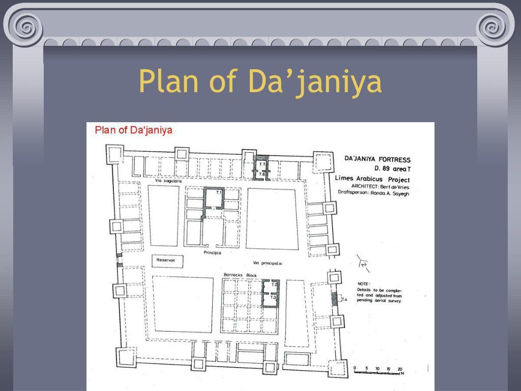 Plan of Da'janiya