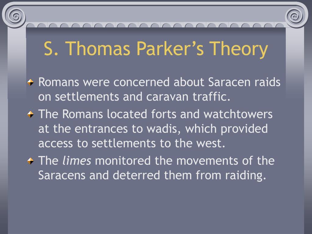 S. Thomas Parker's Theory