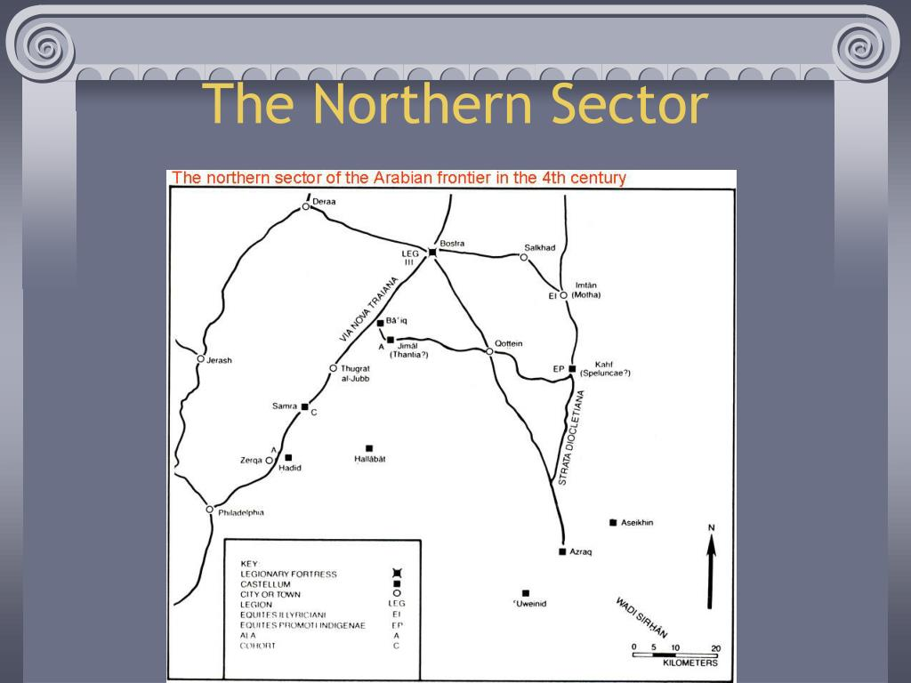 The Northern Sector