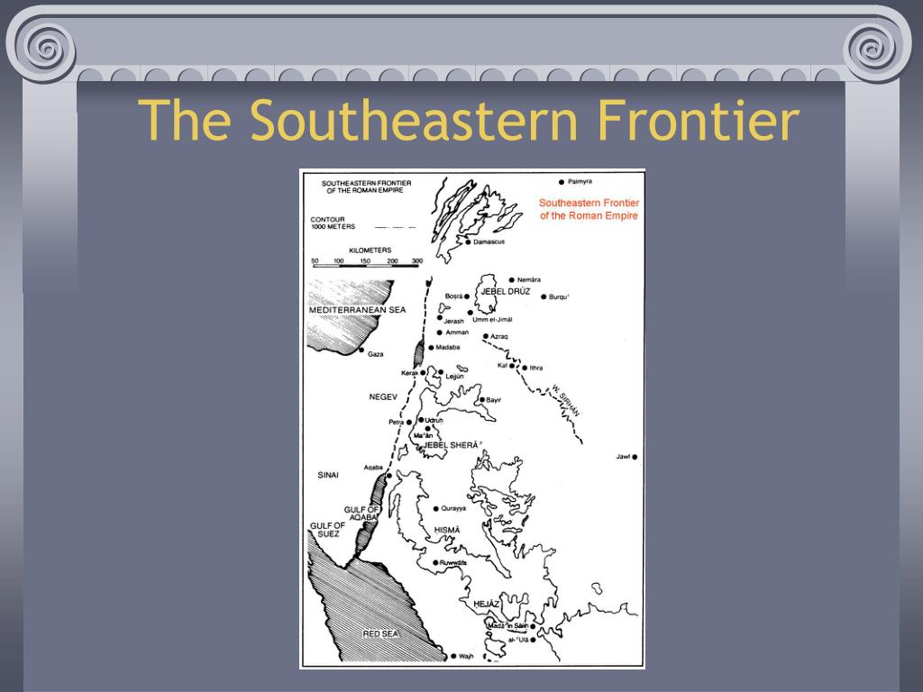 The Southeastern Frontier