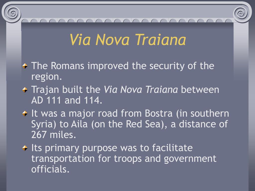 Via Nova Traiana