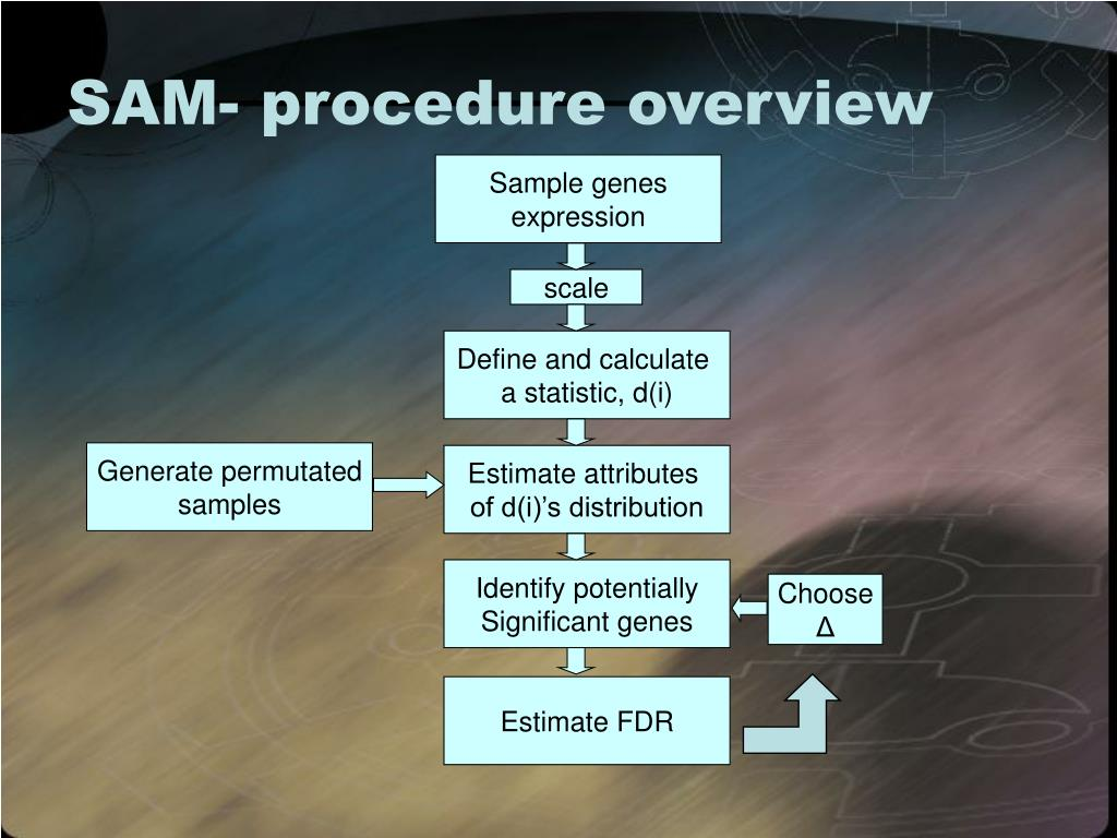 SAM- procedure overview