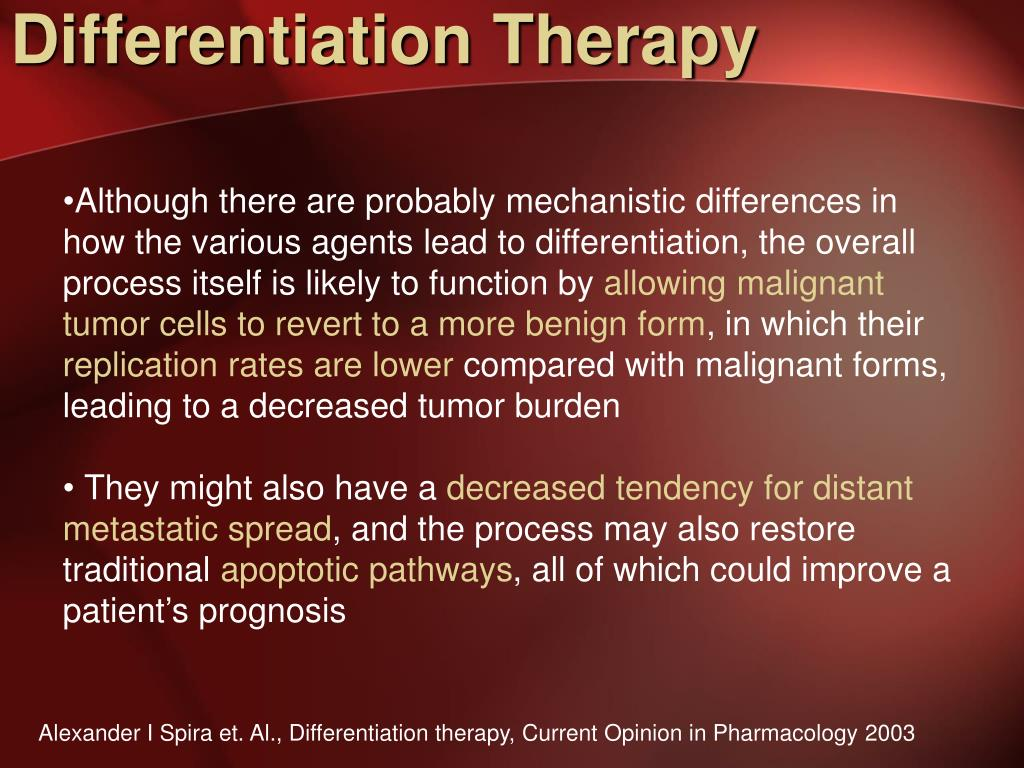 Differentiation Therapy