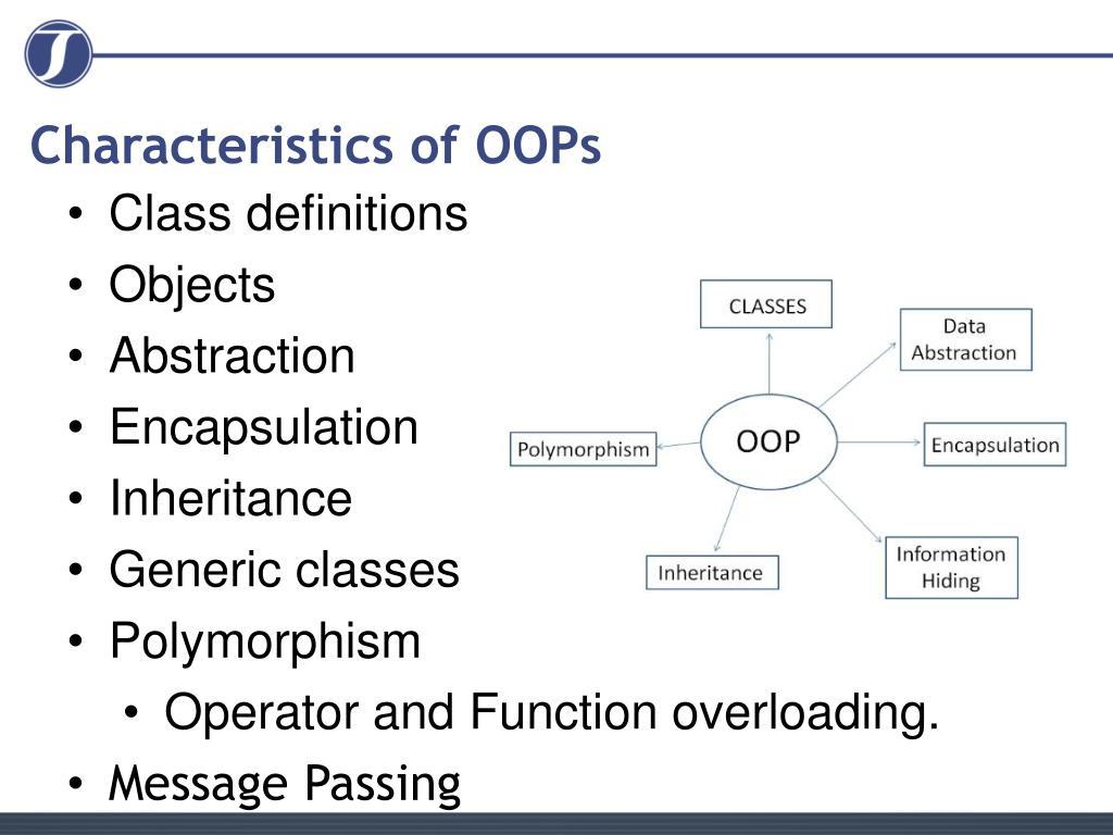 Characteristics of OOPs