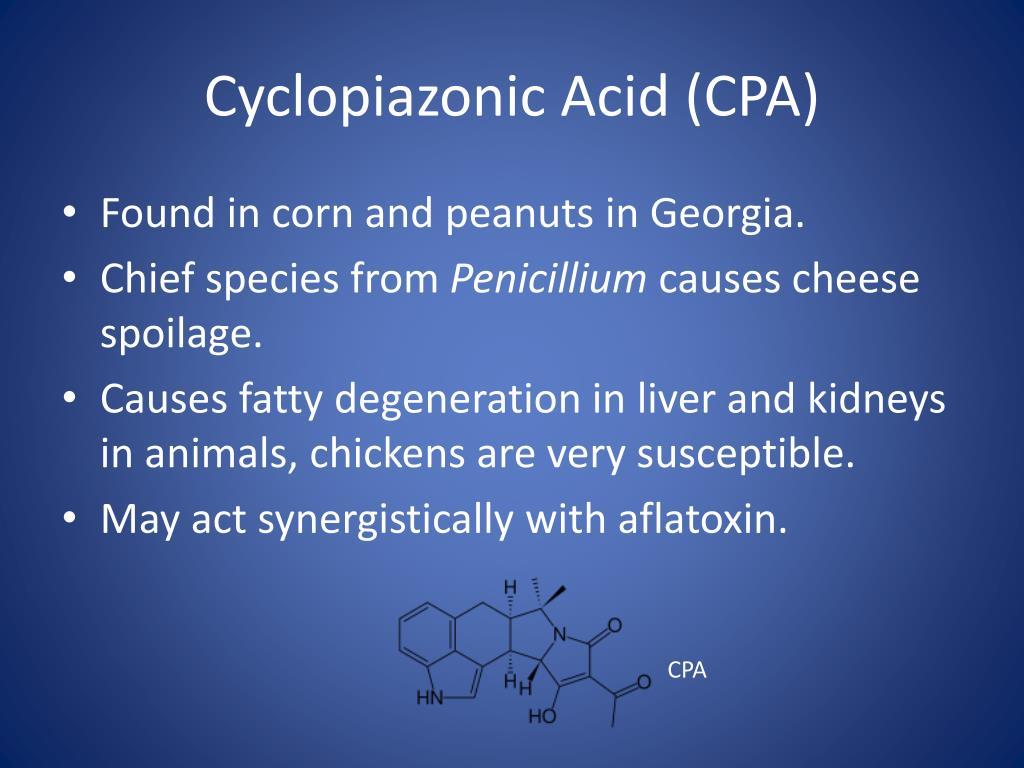 Cyclopiazonic Acid (CPA)