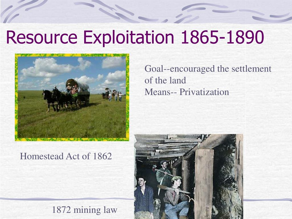Resource Exploitation