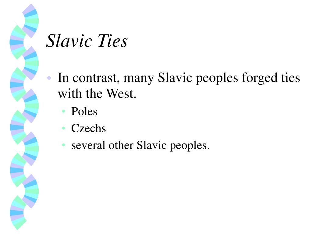 Slavic Ties