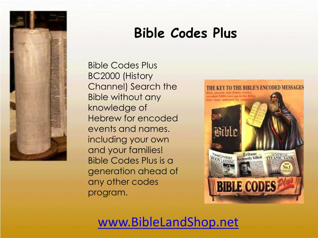 Bible Codes Plus