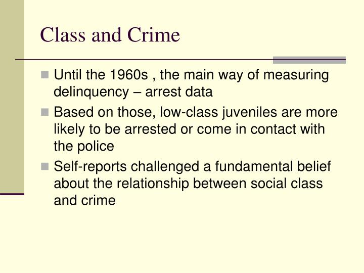 Class and crime l.jpg