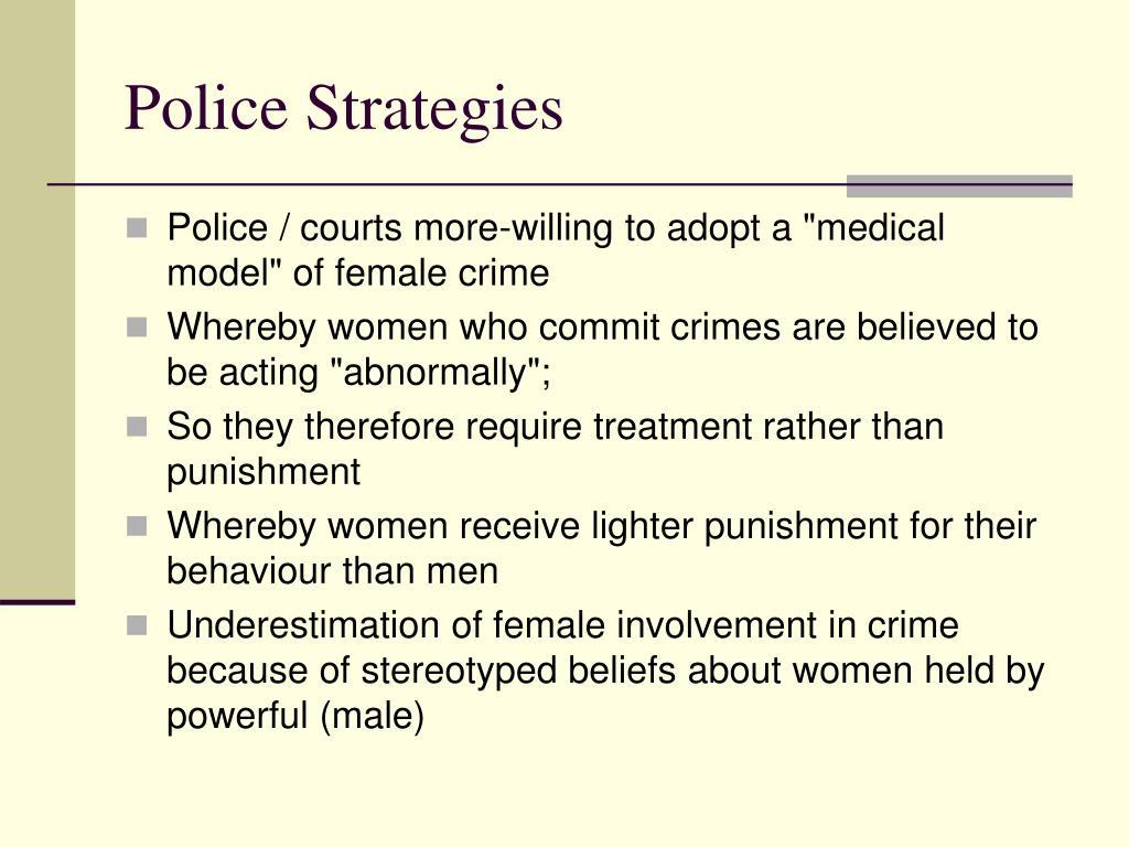 Police Strategies