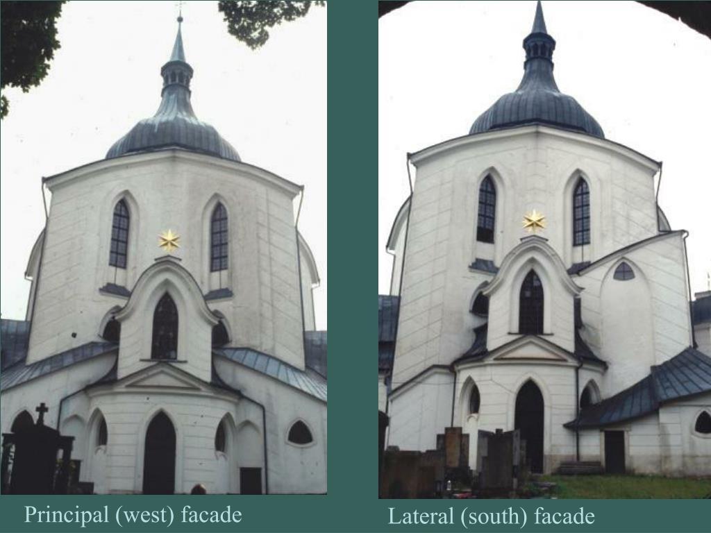 Principal (west) facade