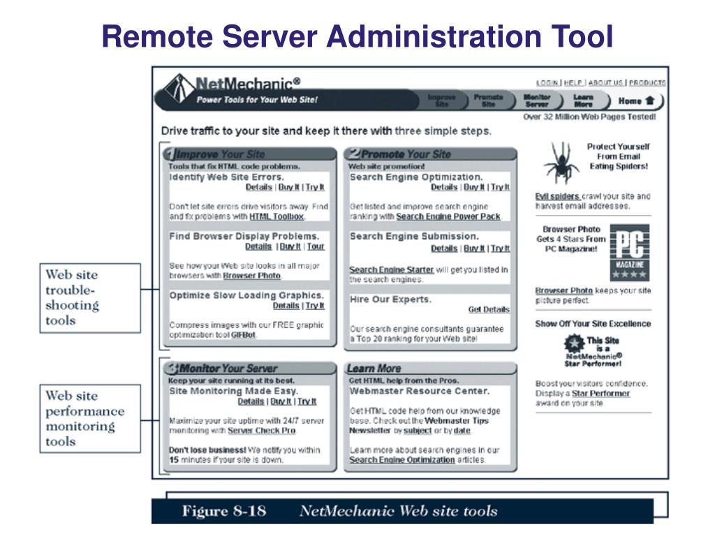 Remote Server Administration Tool