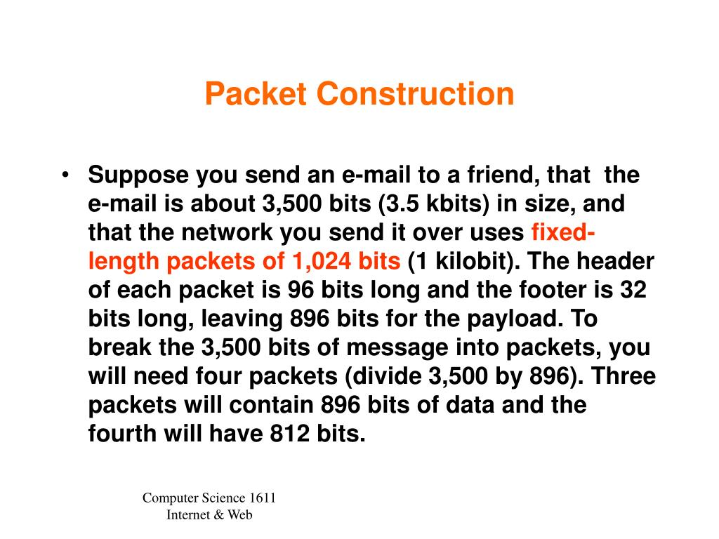 Packet Construction
