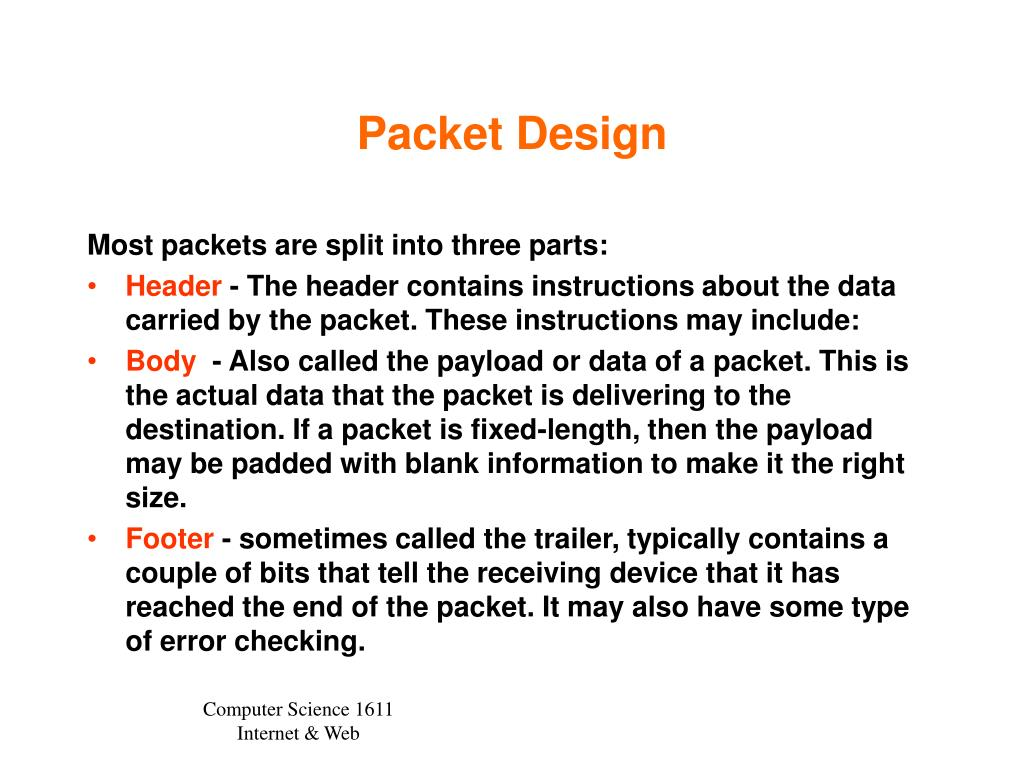 Packet Design