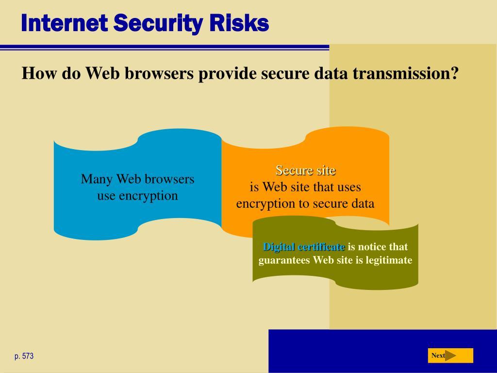 Internet Security Risks