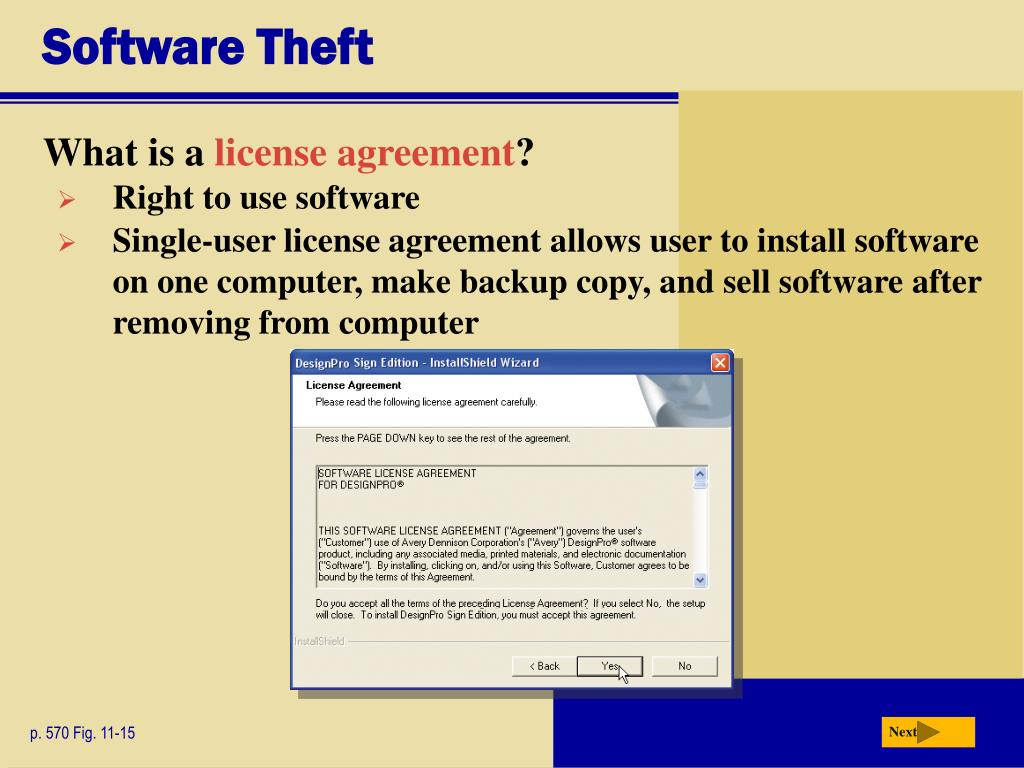 Software Theft