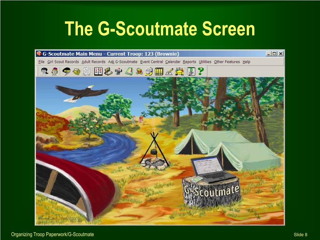 The G-Scoutmate Screen