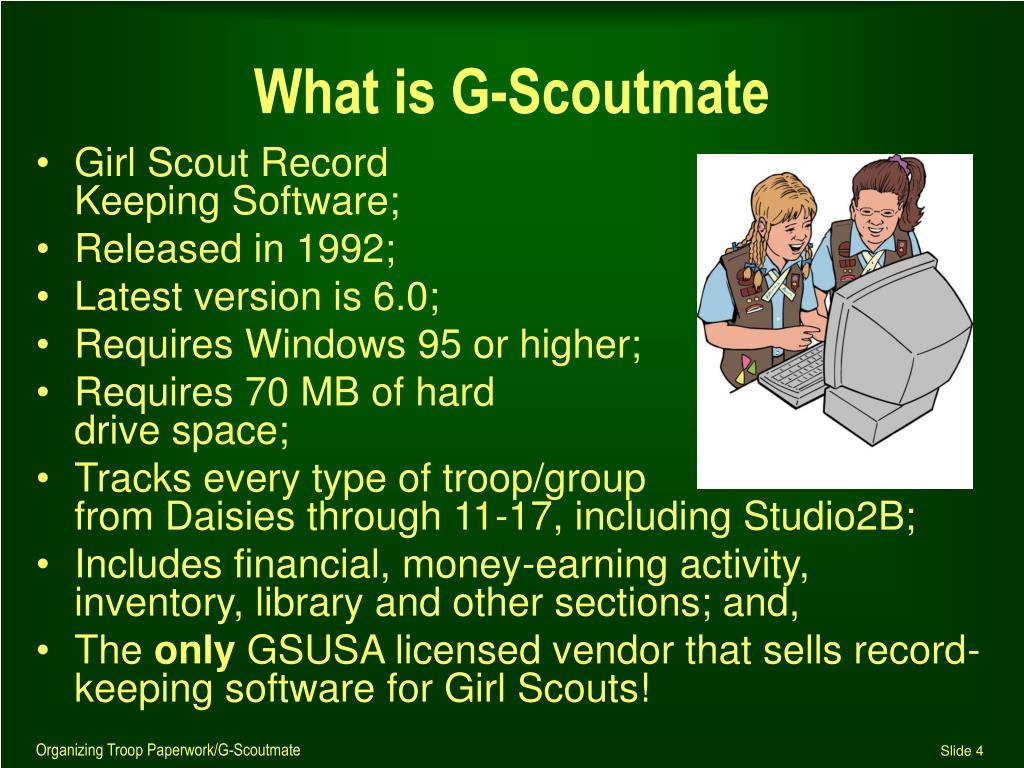 What is G-Scoutmate