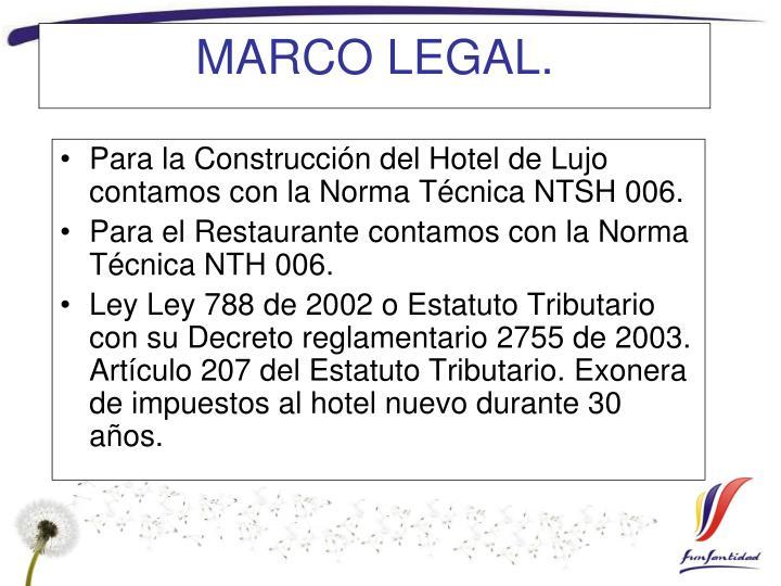 MARCO LEGAL.