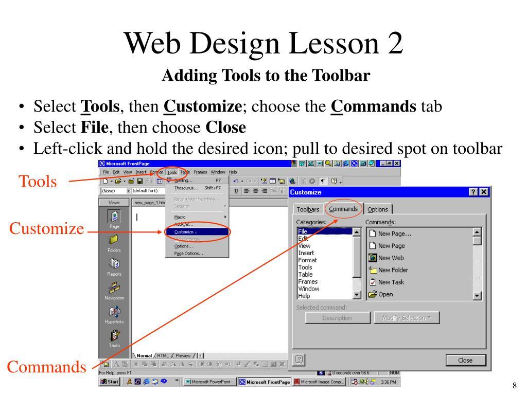 Web Design Lesson 2