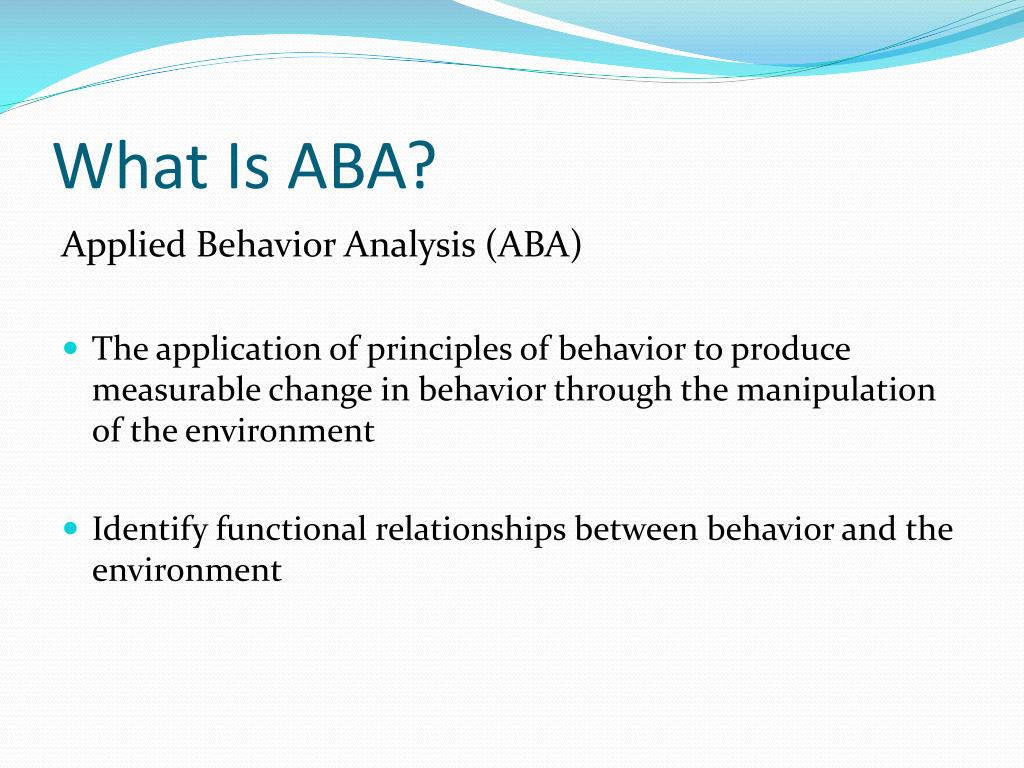 applied behaviour analysis discrete trial training
