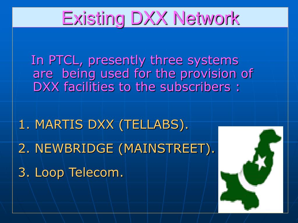 Existing DXX Network