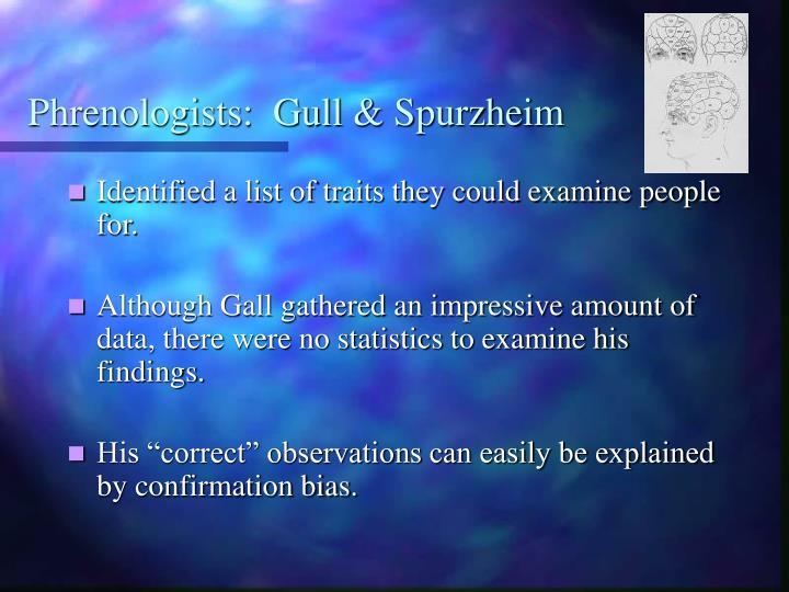 Phrenologists:  Gull & Spurzheim