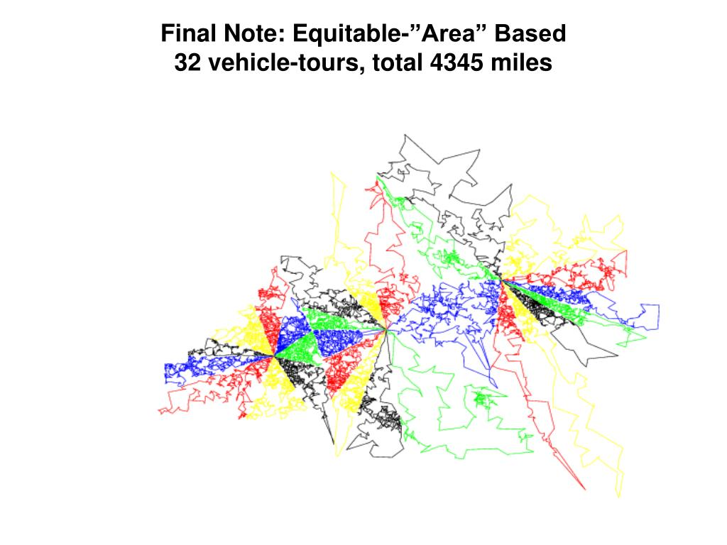 "Final Note: Equitable-""Area"" Based"