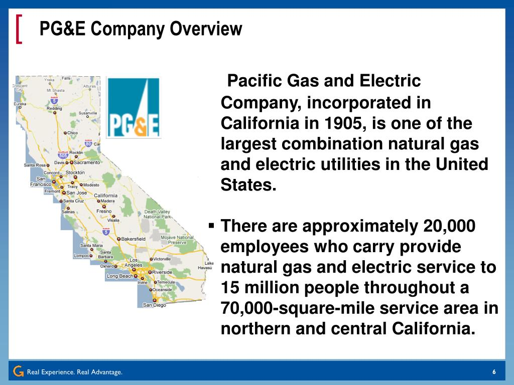 PG&E Company Overview