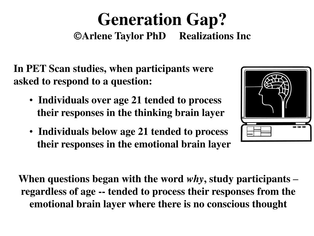 Generation Gap?