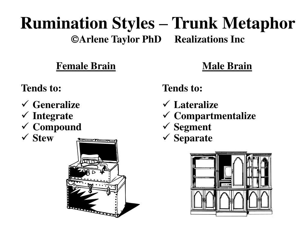 Rumination Styles – Trunk Metaphor