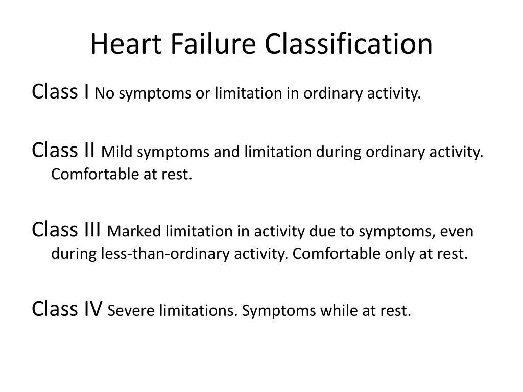 Heart Failure Classification