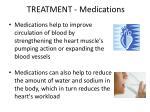 treatment medications