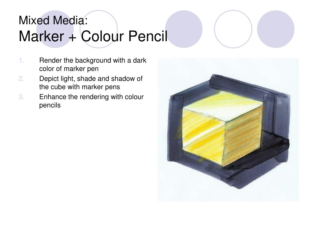 Render the background with a dark color of marker pen