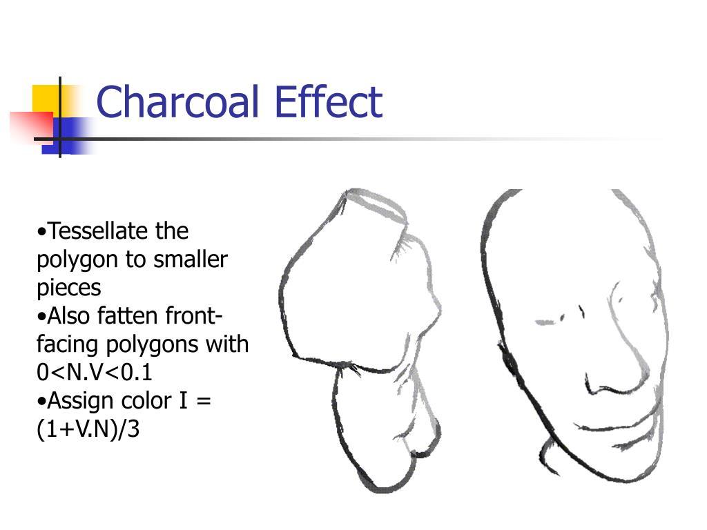 Charcoal Effect