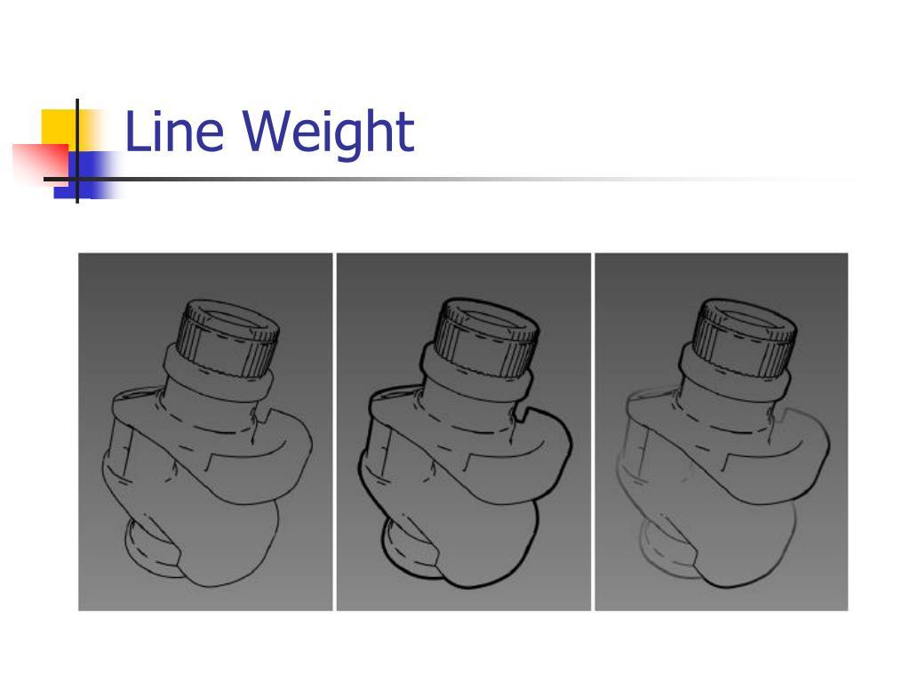 Line Weight