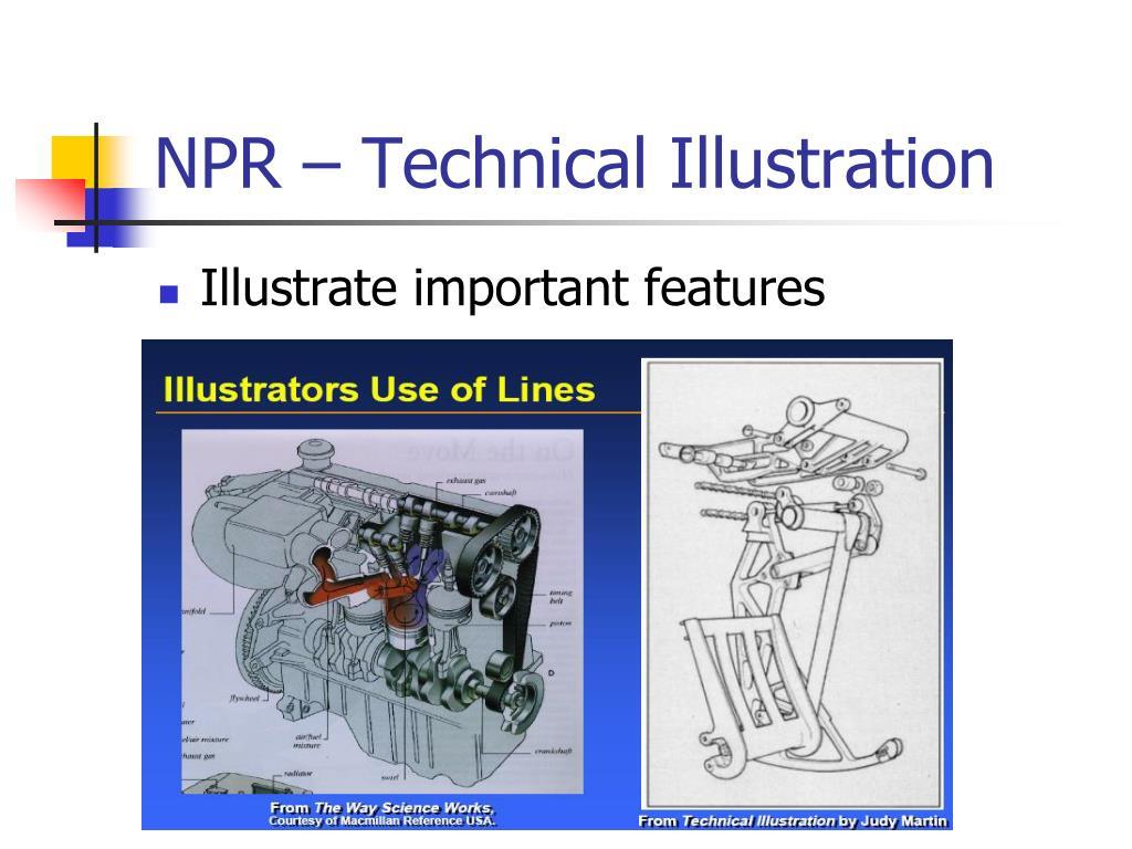 NPR – Technical Illustration