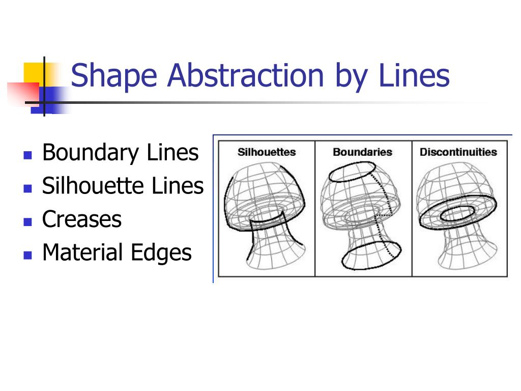 Shape Abstraction by Lines