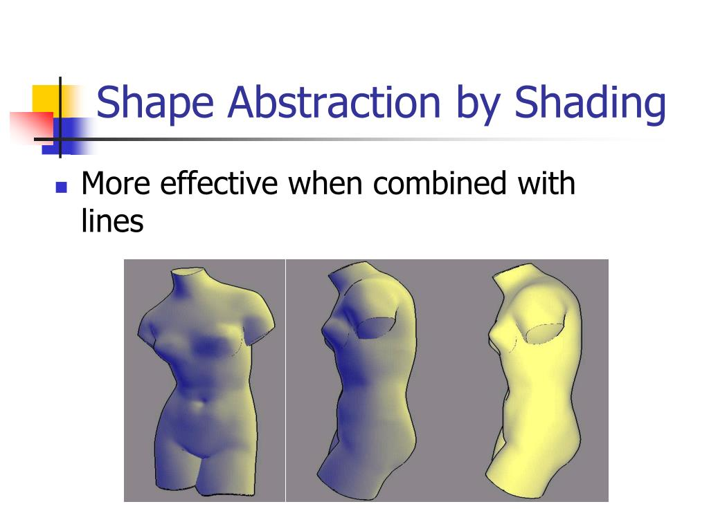 Shape Abstraction by Shading
